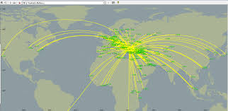 Alaska Airlines Flight Map by Turkish Airlines Becomes 1 In The World Flying To The Most