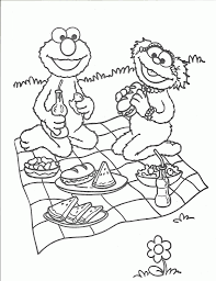 family picnic coloring pages teddy bear picnic coloring pages