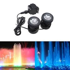 best submersible pond lights best price on image 25w 200ma underwatar submersible 2 led
