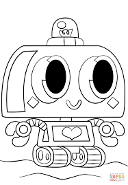 moshi monsters nipper coloring page free printable coloring pages