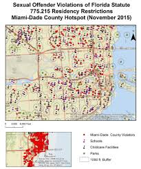 Child Predator Map Exploring The Geography Of Sexual Offender Residency Exploring The