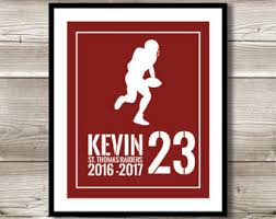 Engraved Football Gifts Football Team Gift Etsy