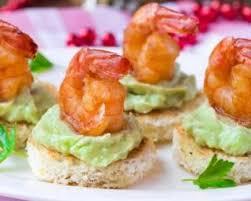 canap avocat crevette recette de toasts au guacamole léger et aux crevettes à moins de 200