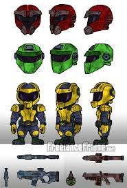 helmet design game video game soldier character designs freelance fridge