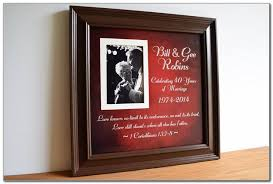 40th wedding anniversary gifts 40th wedding anniversary gift ideas for parents nz wedding