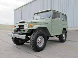 toyota land rover 1990 toyota land cruiser fj40 1970 4 4 rare clean frame off restoration