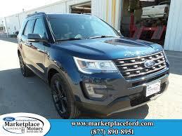 Ford Explorer Blue - ford explorer in devils lake nd marketplace motors inc