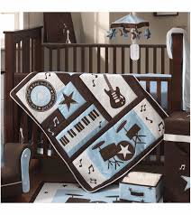 Rock N Roll Crib Bedding Lambs Rock N Roll 5 Crib Bedding Set