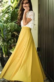 maxi skirt amelia yellow maxi skirt morning lavender