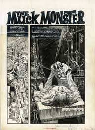 muck monster page 2 comic art bernie wrightson pinterest