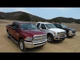 dodge ram vs f250 2014 ram 2500 hd vs ford f 250 vs chevy silverado 2500 0 60 mph