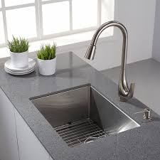 kraus kitchen faucets kitchen wonderful kraus drop in stainless steel sinks kraus