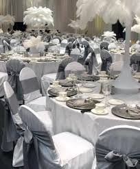 silver chair covers silver chair covers cheap white tablecloths black runner black