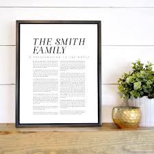 family proclamation grange custom family proclamation latter day home