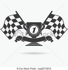 checkered ribbon clipart of flag icon checkered or racing flags place prize