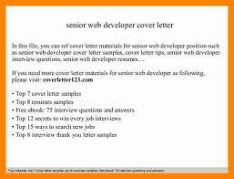 websphere developer cover letter