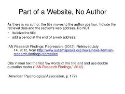 apa format online article no author best ideas of cite internet sources apa format without author for