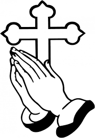praying hands holding a cross free download clip art free clip