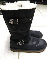 ugg s kaleen boot ugg australia kaleen black leather ultra comfort boot w