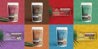 pura vida health brewing creativity branding design