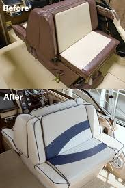 how to reupholster back to back boat lounge seats video sailrite