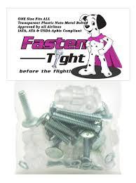 amazon com pet carrier fasteners 8pk clear pet supplies