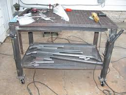 diy welding table plans ultimate collection of welding tables ofn forums