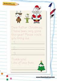 father christmas letter writing templates postcodes and charity