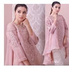 Baju Muslim Brokat 75 model baju gamis brokat modern terpopuler 2018 desain anggun