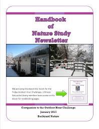 handbook of nature study newsletter u2013 january 2017 backyard nature
