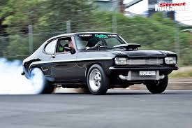 lexus v8 corolla for sale ford capri streeter powered by twin turbo lexus v8 street machine