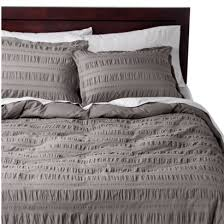 threshold seersucker duvet cover set for the home pinterest