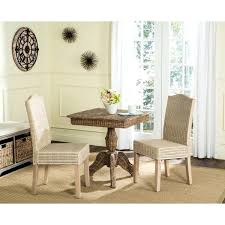 white wash dining room table rural woven dining white washed