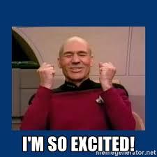 So Excited Meme - excited meme