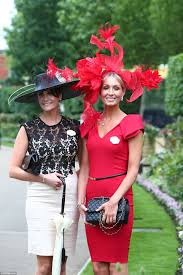 royal ascot 2016 ladies keep up the trend for quirky hats daily