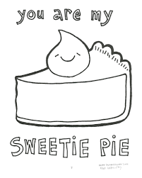 would you like to color this very tasty slice of pie flickr