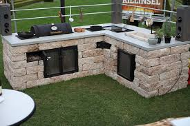 outdoor k che mauern awesome outdoor kãƒâ che holz contemporary milbank us milbank us