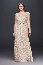 evening wear dresses for weddings plus size wedding dresses bridal gowns david s bridal