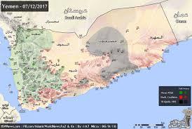 Map Of Al Full Map Of Yemen December 2017