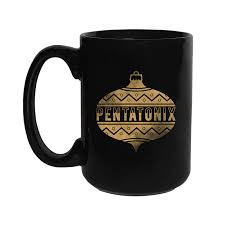 mug ornament pentatonix official store gold ornament mug
