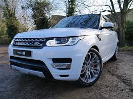 land rover hse white used fuji white land rover range rover sport for sale hertfordshire