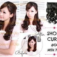 harga hair clip curly kanubeea hair clip murah s kanubeea ponytail kuncir kanubeea