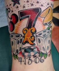 gambling tattoo ideas and meanings