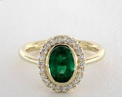 green engagement ring emerald engagement rings jamesallen