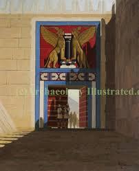 mycenae lion gate illustration by balage balogh homer u0027s u2026 flickr