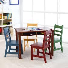 lipper childrens rectangular table and chair set beauteous kids