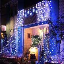 Outdoor Blue Lights 50m 250led String Light Wedding Garden