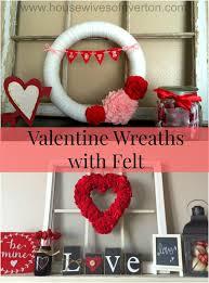 valentines wreaths s wreaths with felt of riverton