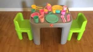 step2 table and chairs green and tan best step2 table and chairs set pink only 39 99 user reviews