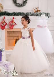 white lace sash jewel ball gown net baby birthday party